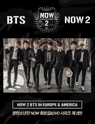 방탄소년단 - BTS NOW2 DVD IN EUROPE & AMERICA (1 DISC)