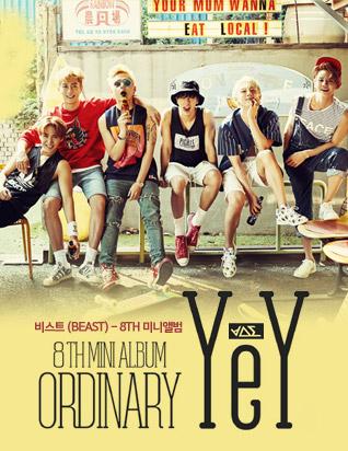 비스트 (BEAST) - ORDINARY (8TH 미니앨범)