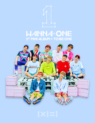 워너원 (WANNA ONE) - 1X1=1(TO BE ONE) (1ST 미니앨범)