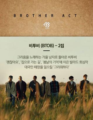 비투비 (BTOB) - 2집 [BROTHER ACT.]