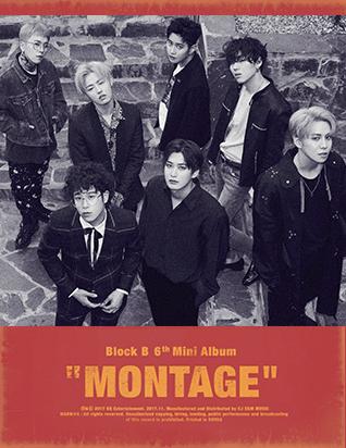 블락비 (BLOCK B) - MONTAGE (6TH 미니앨범)