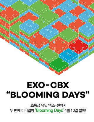 엑소-첸백시 (EXO-CBX) - BLOOMING DAYS (2ND 미니앨범)