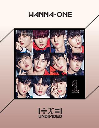 워너원 (WANNA ONE) - 1÷Χ=1 (UNDIVIDED) (스페셜 앨범)