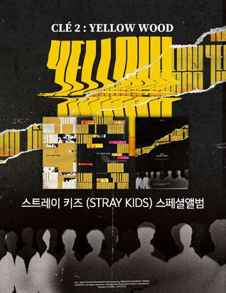 스트레이 키즈 (STRAY KIDS) - CLE 2 : YELLOW WOOD (스페셜앨범)