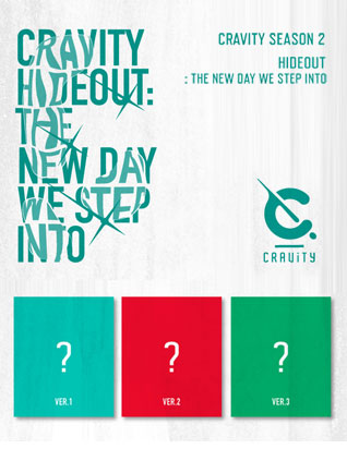 CRAVITY (크래비티) - HIDEOUT: THE NEW DAY WE STEP INTO