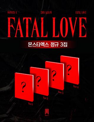 몬스타엑스 (MONSTA X) - 3집 [FATAL LOVE]