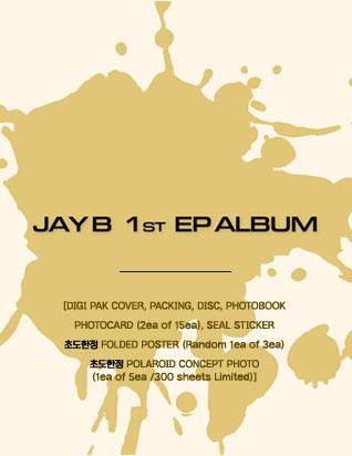 JAY B - JAY B 1st EP ALBUM