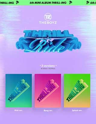 더보이즈 (THE BOYZ) - THRILL-ING (6TH 미니앨범)