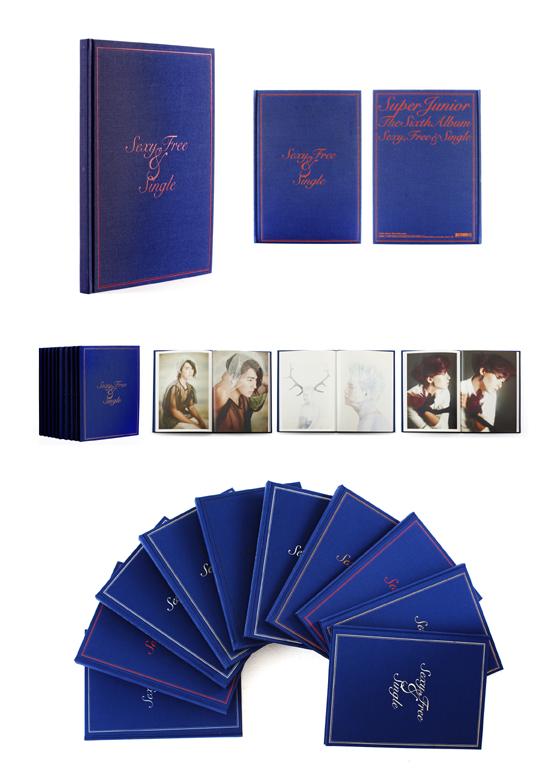 [Super Junior] 6th Album+Photo Book (Sexy, Free & Single) Type A