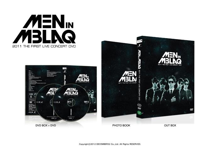 [MBLAQ] Live DVD (2011 Concert MAN IN MBLAQ)+Photo Book