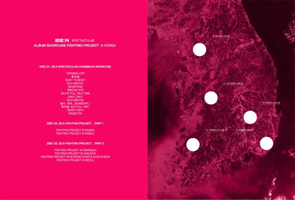 [ZE: A] Live DVD (Spectacular Comeback Showcase in Korea)