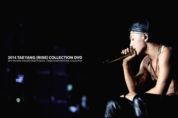 [TAEYANG] Live DVD (2014 RISE COLLECTION)+Booklet