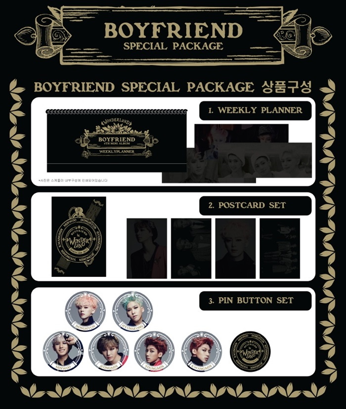 [BOY FRIEND] Special Package (Wonderland)