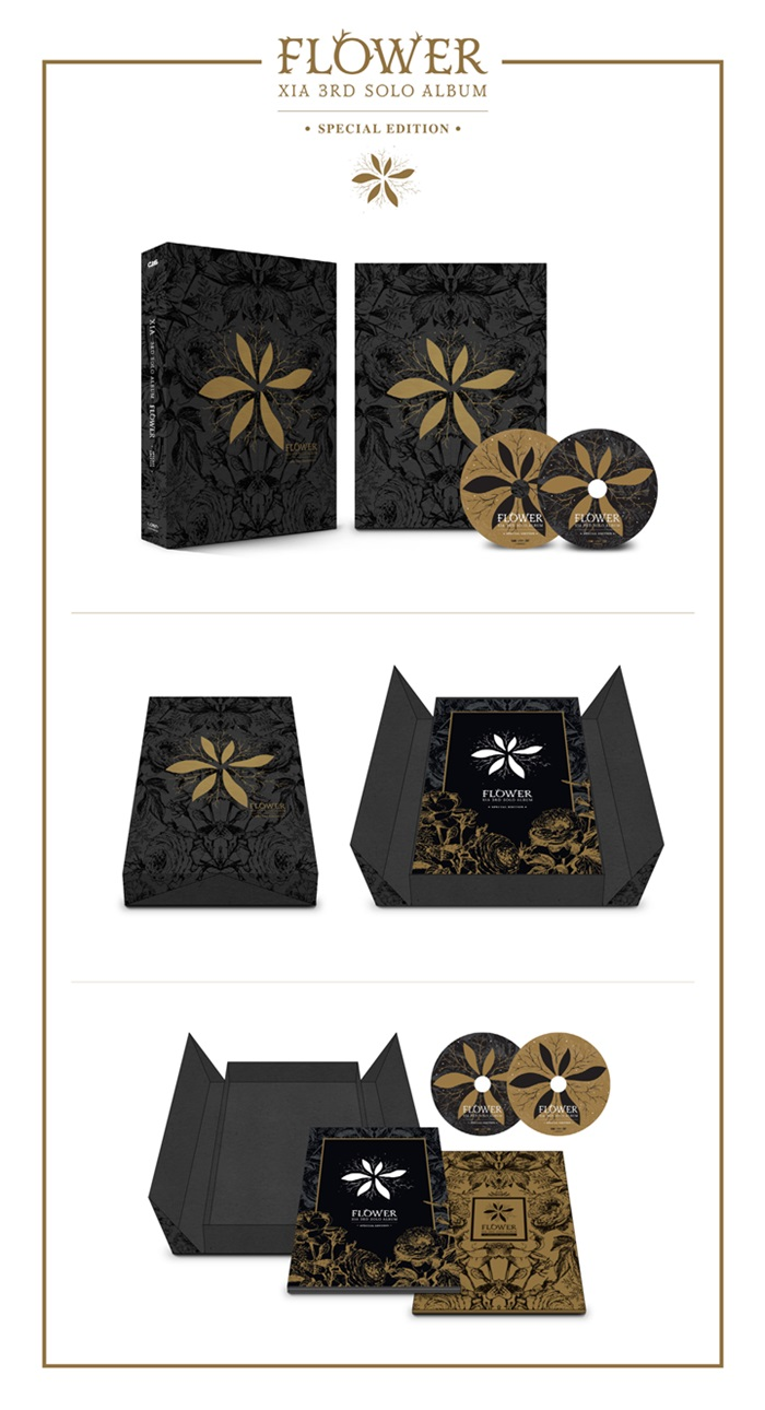 [XIA Junsu] 3rd Special Edition (FLOWER)+DVD+Photo Book