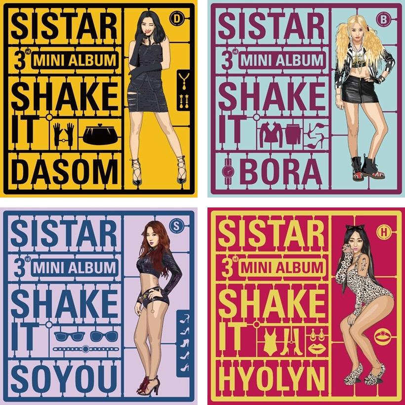 [SISTAR] 3rd Mini Album (SHAKE IT)