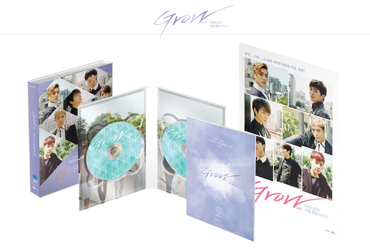 [INFINITE] DVD+Photo Book (GROW)Real Life Youth of Infinite