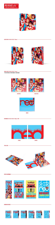 Red Velvet) - 1ST ALBUM [The Red] - KPOP STORE USA