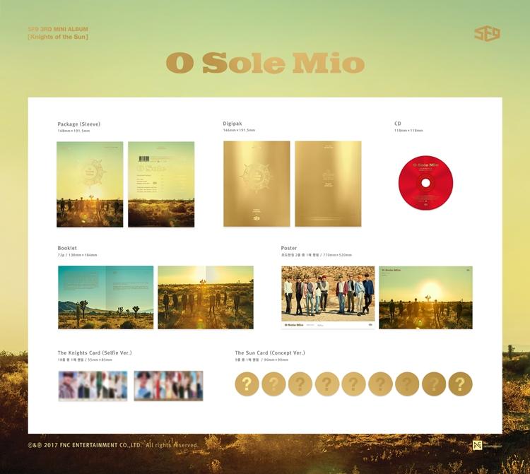 |ALBUM| SF9- 3rd MINI ALBUM KNIGHT OF THE SUN