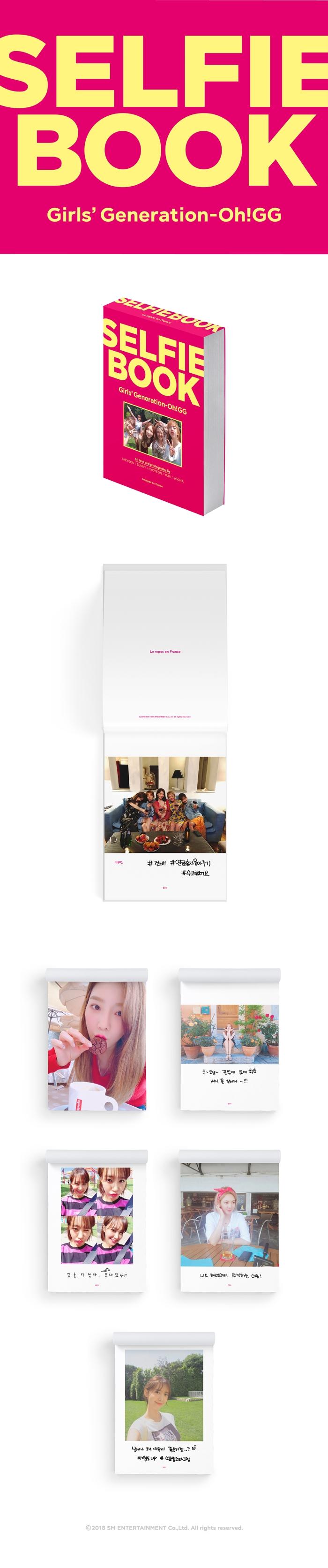 SNSD - SELFIE BOOK : Girls Generation-Oh!GG