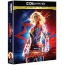 캡틴 마블 (2 DISC) <2D + 4K UHD 블루레이 스틸북 한정판>