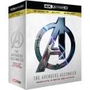 어벤져스 1-4 : 4-무비 컬렉션 (12 DISC) <2D + 3D + 4K UHD 블루레이>