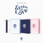 트와이스 (TWICE) - Taste of Love  (10TH 미니앨범) [커버3종] [신나라예약특전_투명포토카드(9종중1종)증정]
