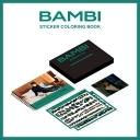 백현 (BAEKHYUN) - BAMBI : 스티커 컬러링북