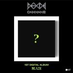 도한세 - 1st Digital Album [BLAZE] (KIT)