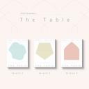 (사인회/세트) 뉴이스트 - THE TABLE (7TH 미니앨범) (3종세트 Ver.)